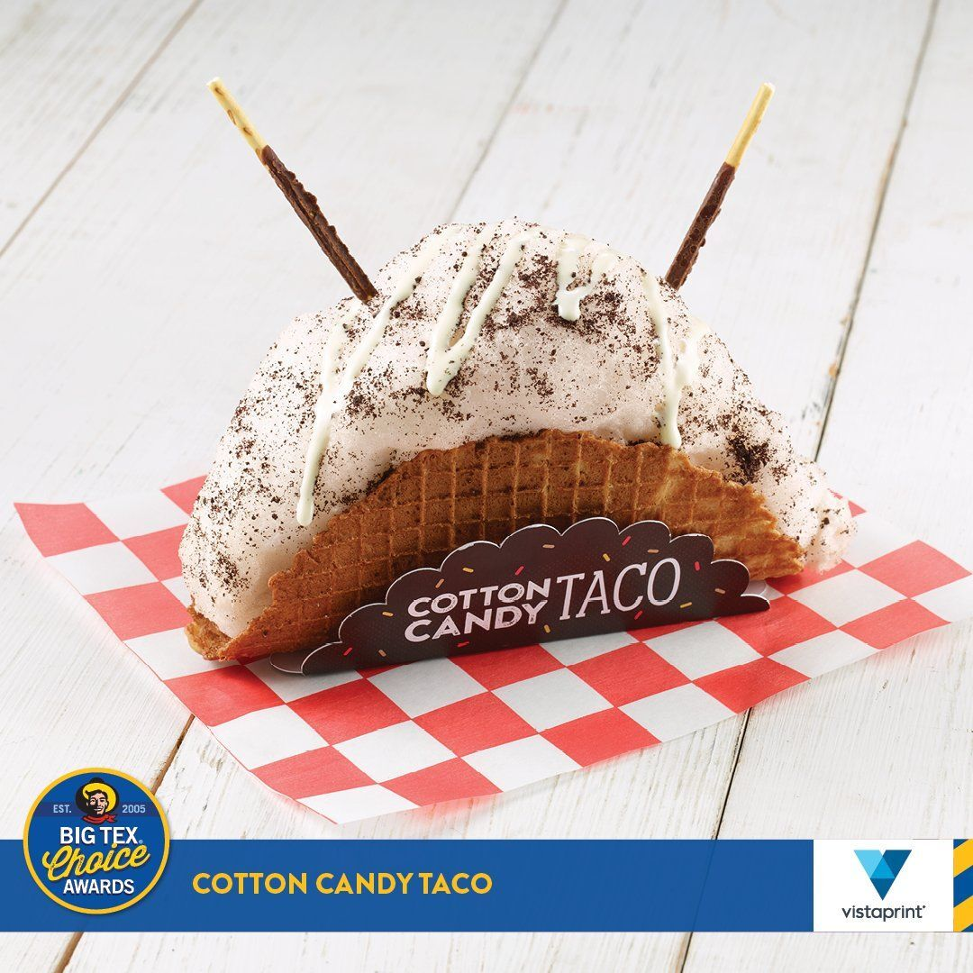 Cotton Candy Taco