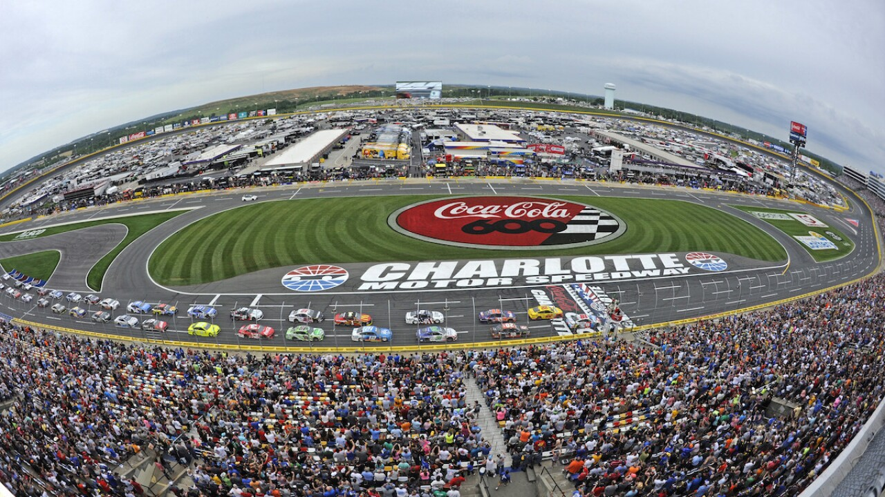 North Carolina governor OKs NASCAR to race at Charlotte