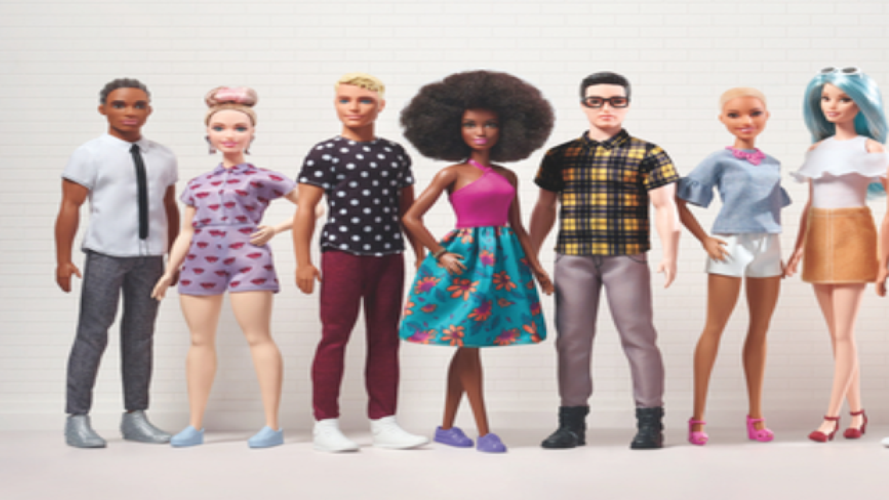 Mattel expands definition a 'Barbie girl in a Barbie world' with diversity, including more Ken dolls