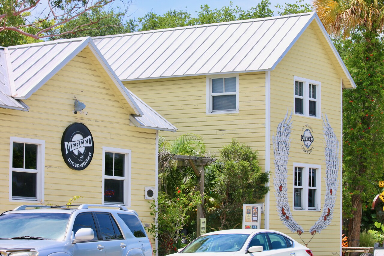 Pierced Ciderworks converted a 117-year-old building to create space for its cidery.