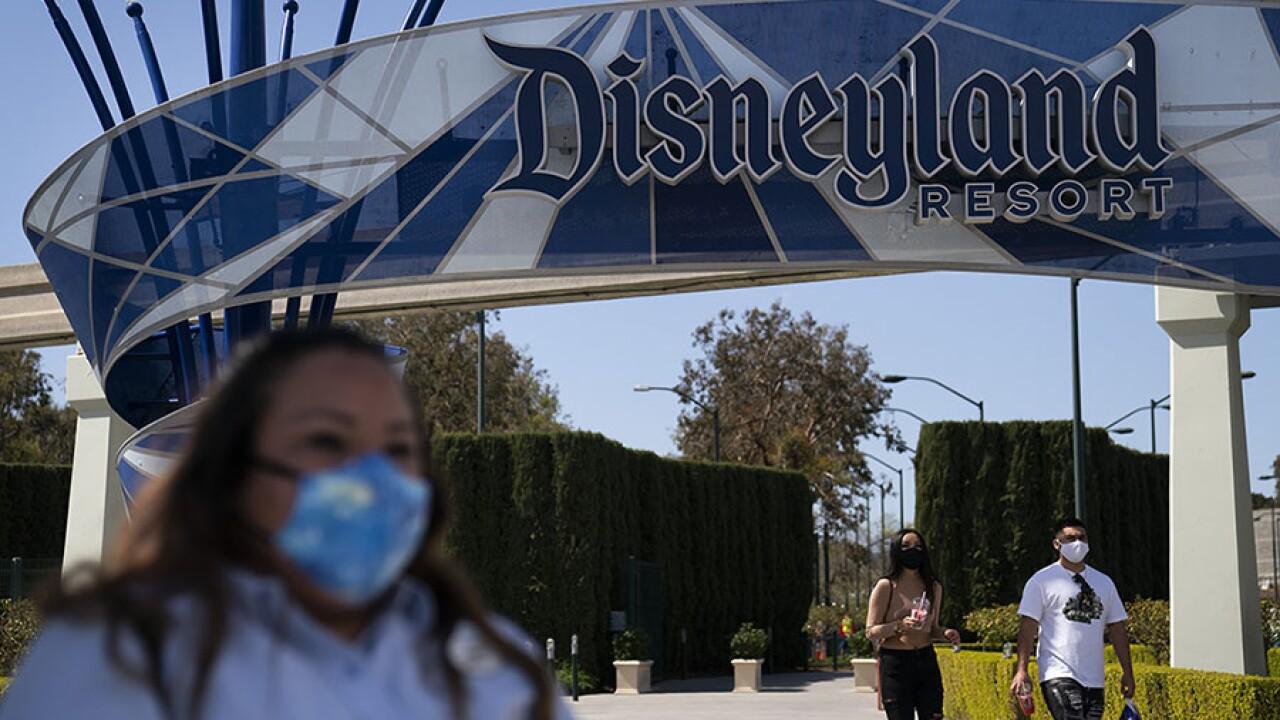 Disneyland, California Adventure reopen after pandemic-related closure