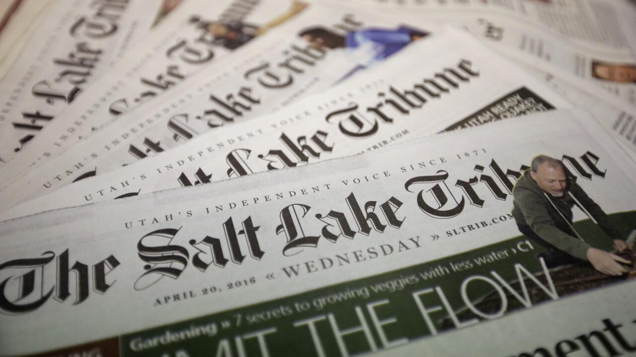 Newspaper Print Cuts Utah
