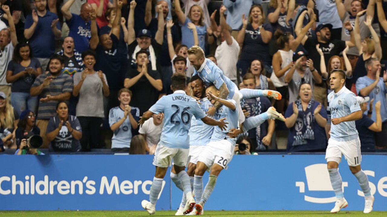 Sporting KC gets late come from behind 3-2 win