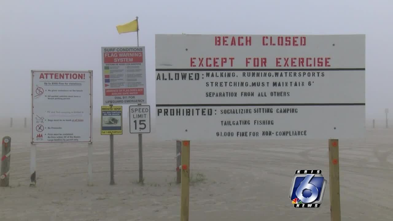 Beaches closures to be extended