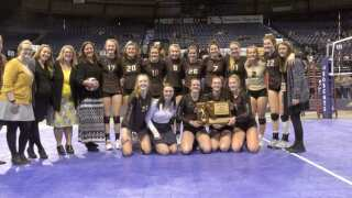 Helena Capital sophomore Audrey Hofer named Montana Gatorade volleyball player of year