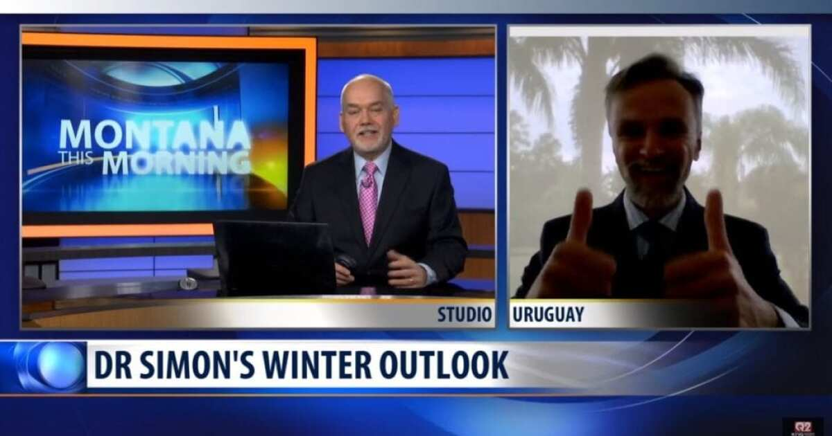 Dr  Simon Atkins provides Montana winter weather outlook