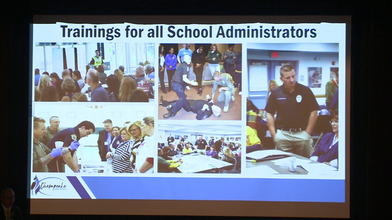 School safety forum aims to keep Chesapeake students, staff protected