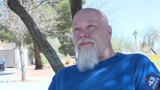 Las Vegas man chooses homelessness over accruing pandemic debt