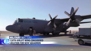 120th Airlift Wing considered a potential location for new squadron
