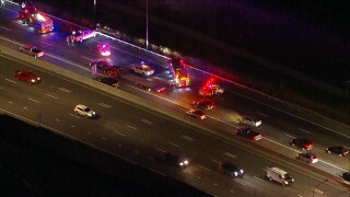 Southbound I-25 crash before 84th Avenue_Oct 7 2021