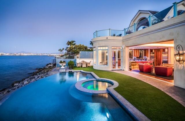 $13,900,000 Coronado home features views of San Diego skyline