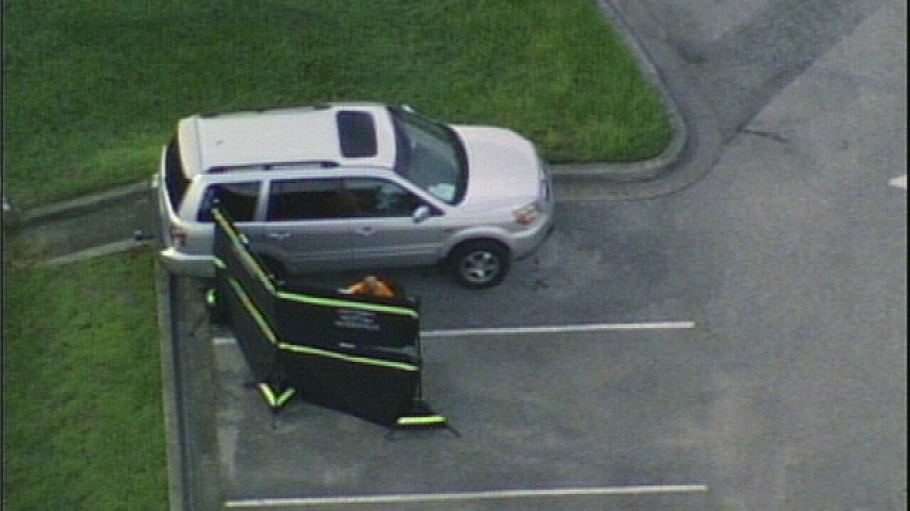 Baby dies after being left in SUV in Fla. school parking lot