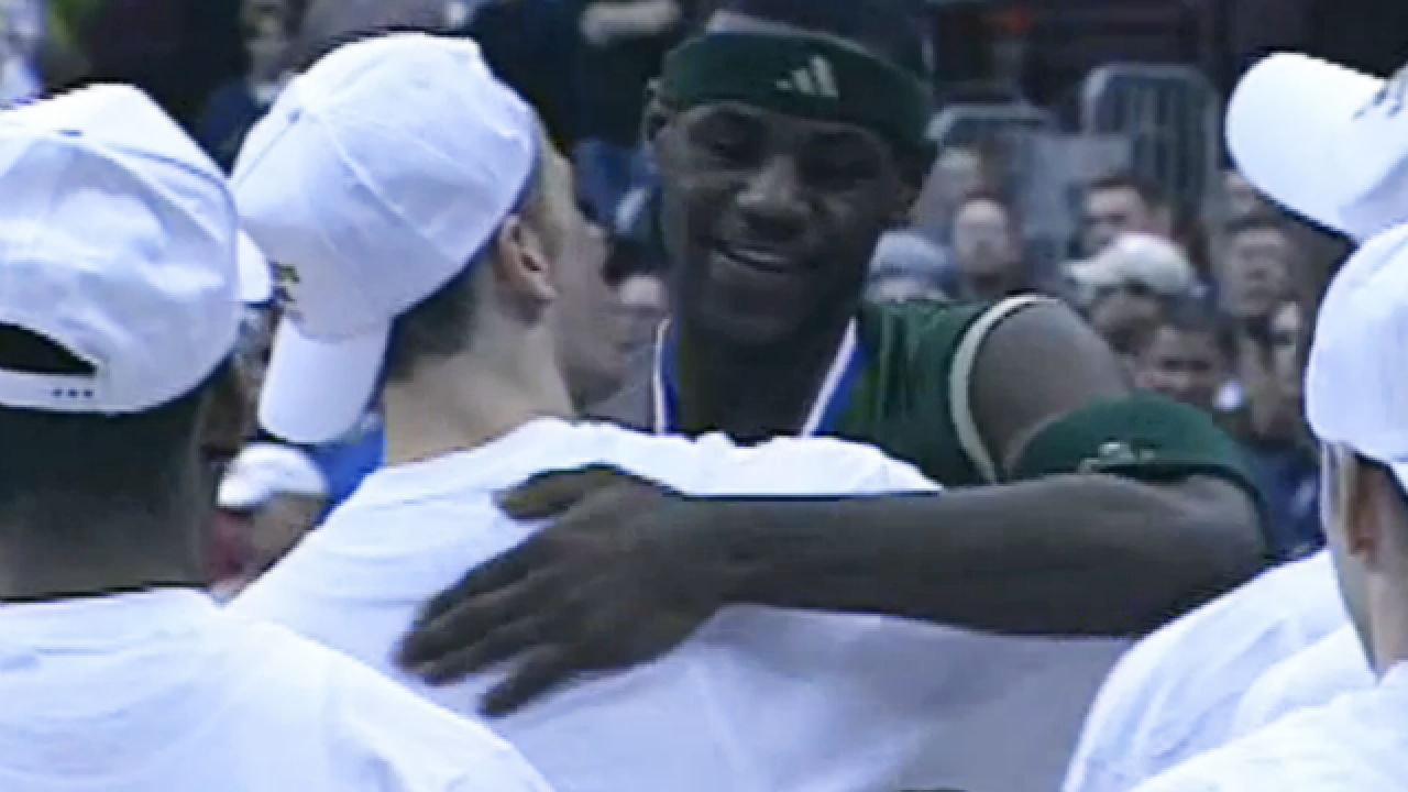 WATCH: Cincy team beats LeBron in state final