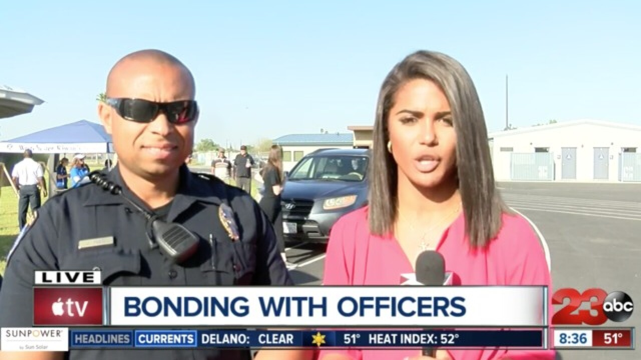 Bakersfield Police strive for positive impact on students