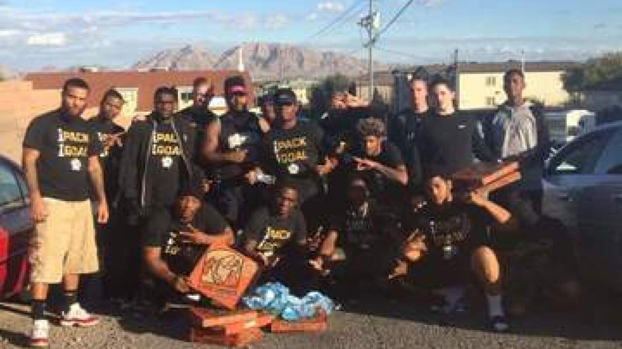 Sin City Wolfpack gives back to community
