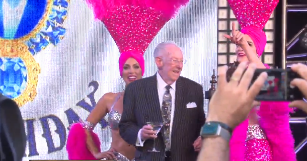 Downtown celebrates Oscar Goodman's 80th birthday