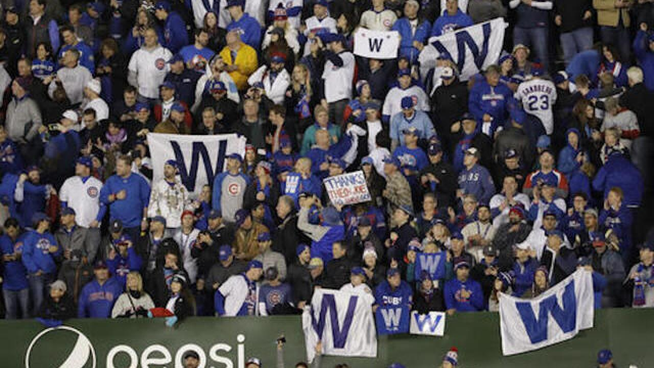 Chapman, Cubs top Indians, cut World Series deficit to 3-2