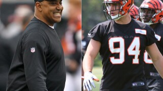 Bengals coach Marvin Lewis says Sam Hubbard is 'way ahead of the curve'