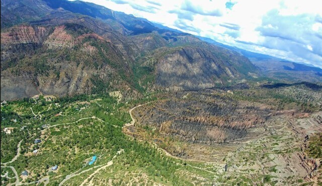 GALLERY: These aerial photos show the destruction of the massive 416 Fire near Durango