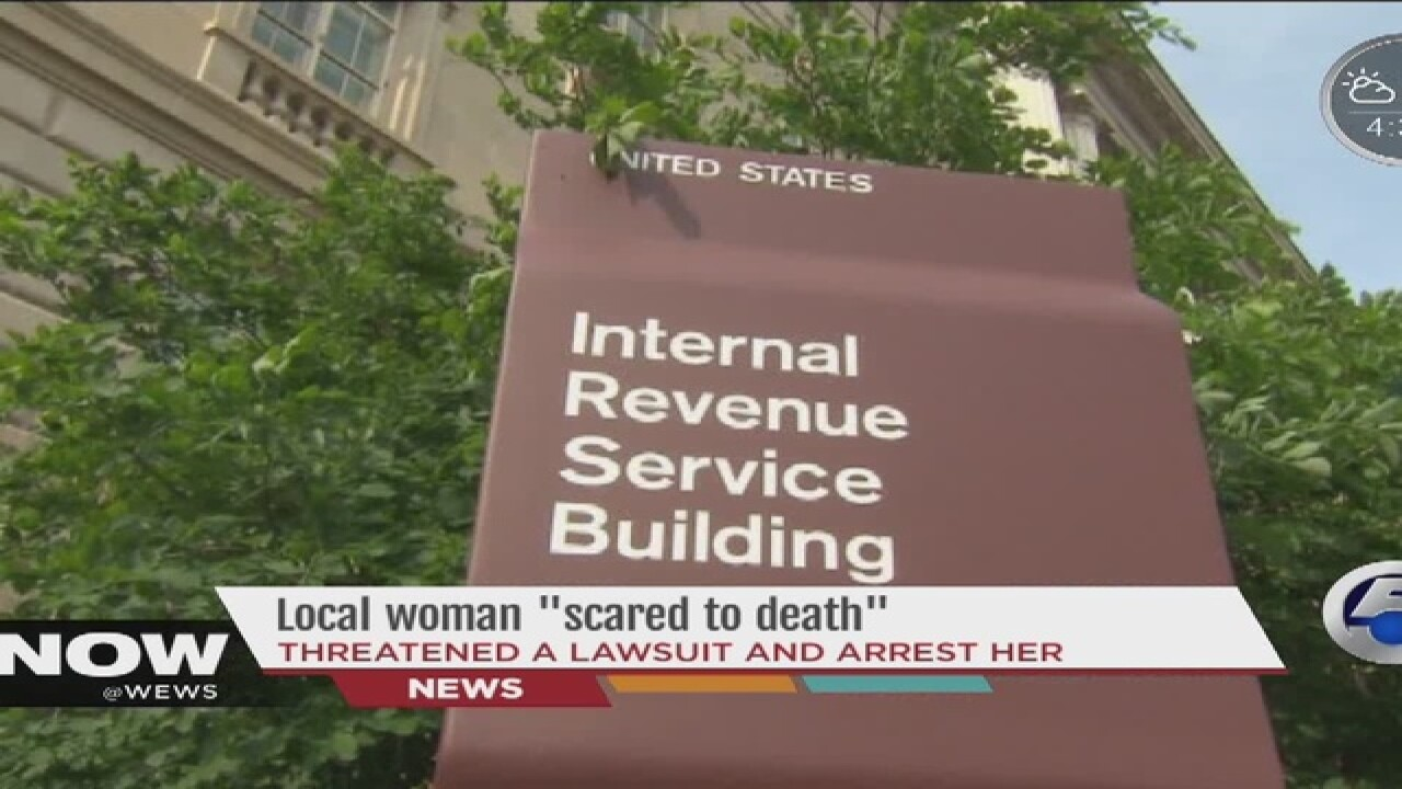 IRS scam stealing thousands from Ohioans
