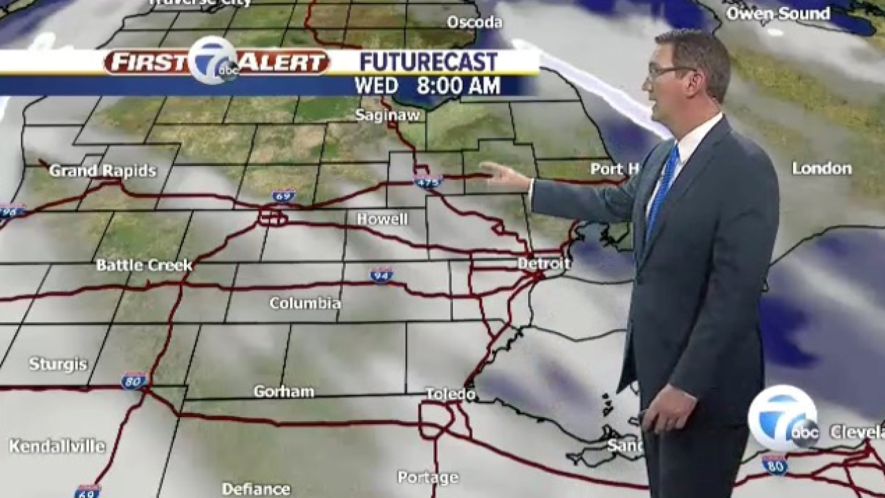 Metro Detroit Weather: Much colder tonight
