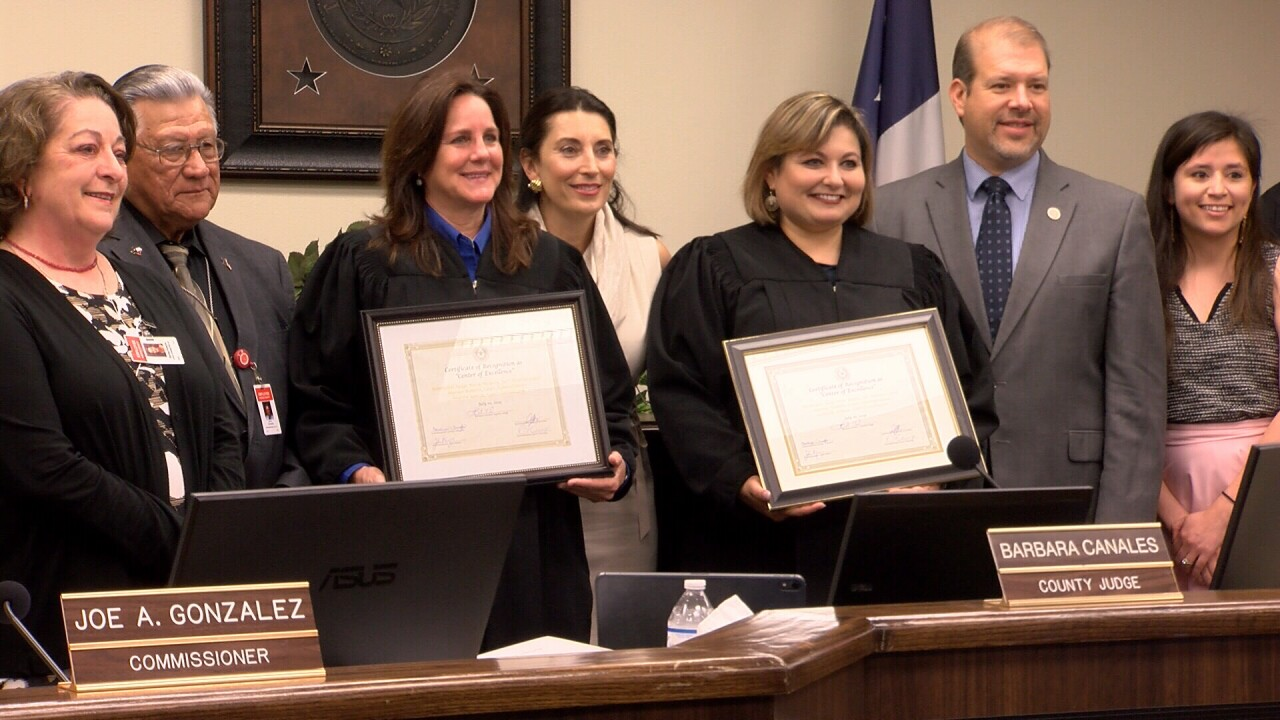 Nueces County judges honored