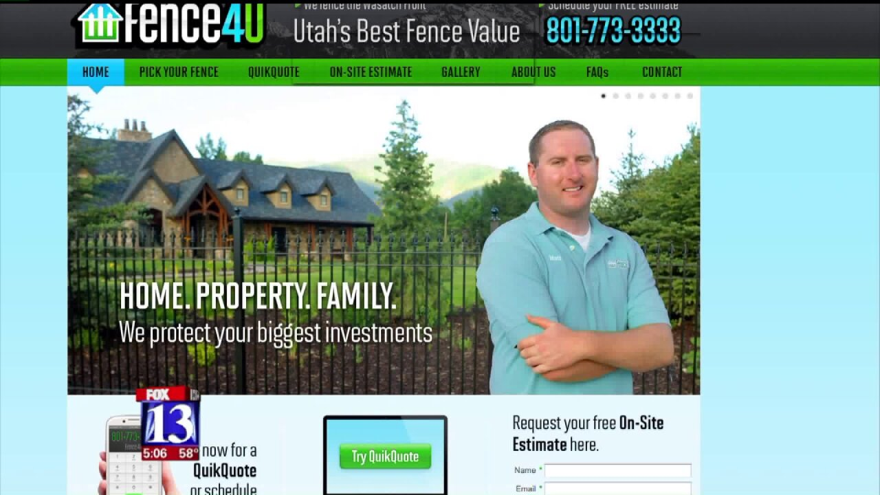 Business owner in Davis County facing felony charges over unfinished fences
