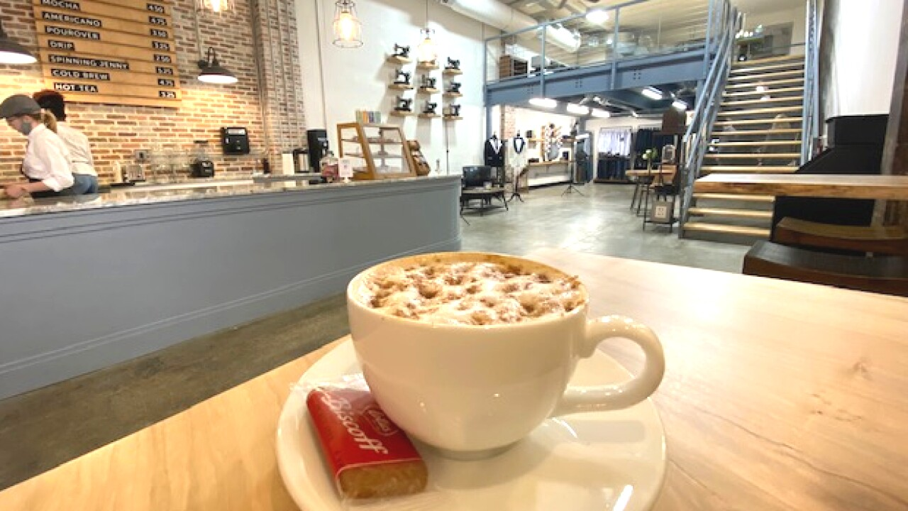 Takeout Tuesday: Find the perfect fit at Downtown Norfolk's newest coffee shop