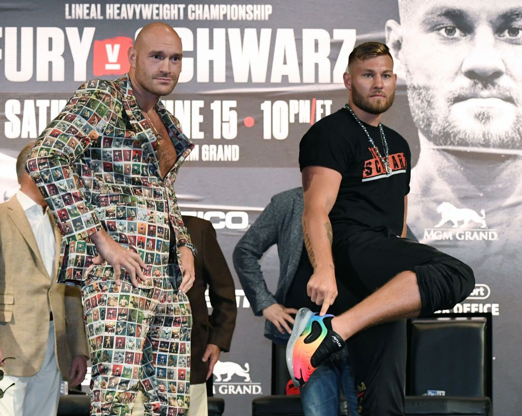 Tyson Fury v Tom Schwarz - News Conference