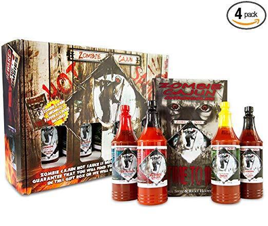 Zombie Cajun Hot Sauce Gift Set.jpg
