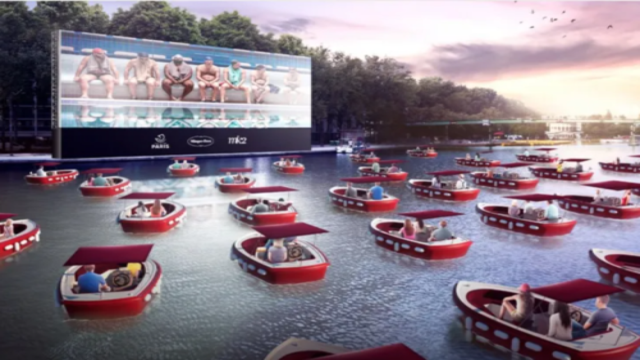 Paris Is Hosting A 'boat-in' Movie Night On The Seine