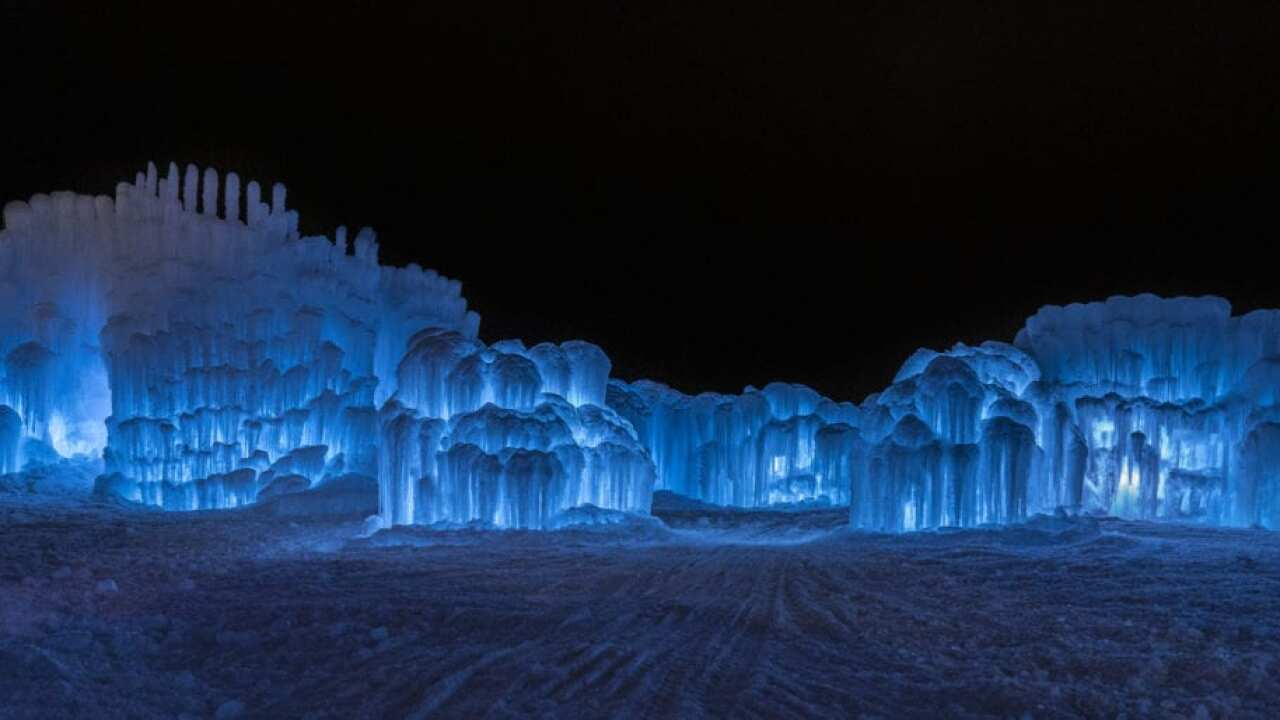 Ice Castles in Dillon