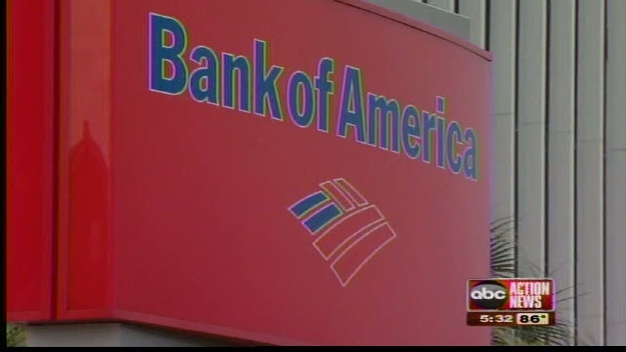 Bank of America to stop lending money to military-style weapons makers