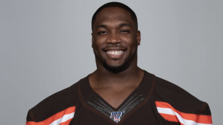 Chris Smith, of the Cleveland Browns.