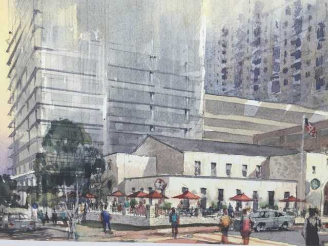 Towson Row construction finally begins