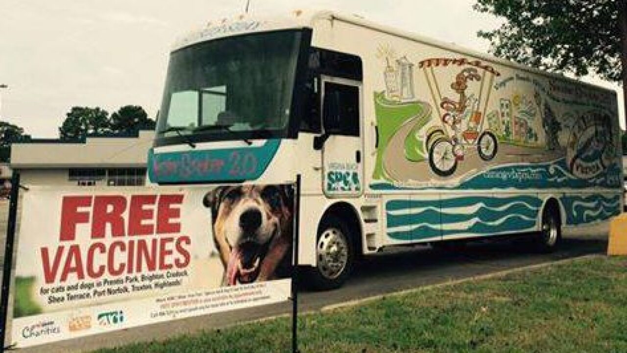 Free spay/neuter, vaccines for Portsmouth pets on November 18