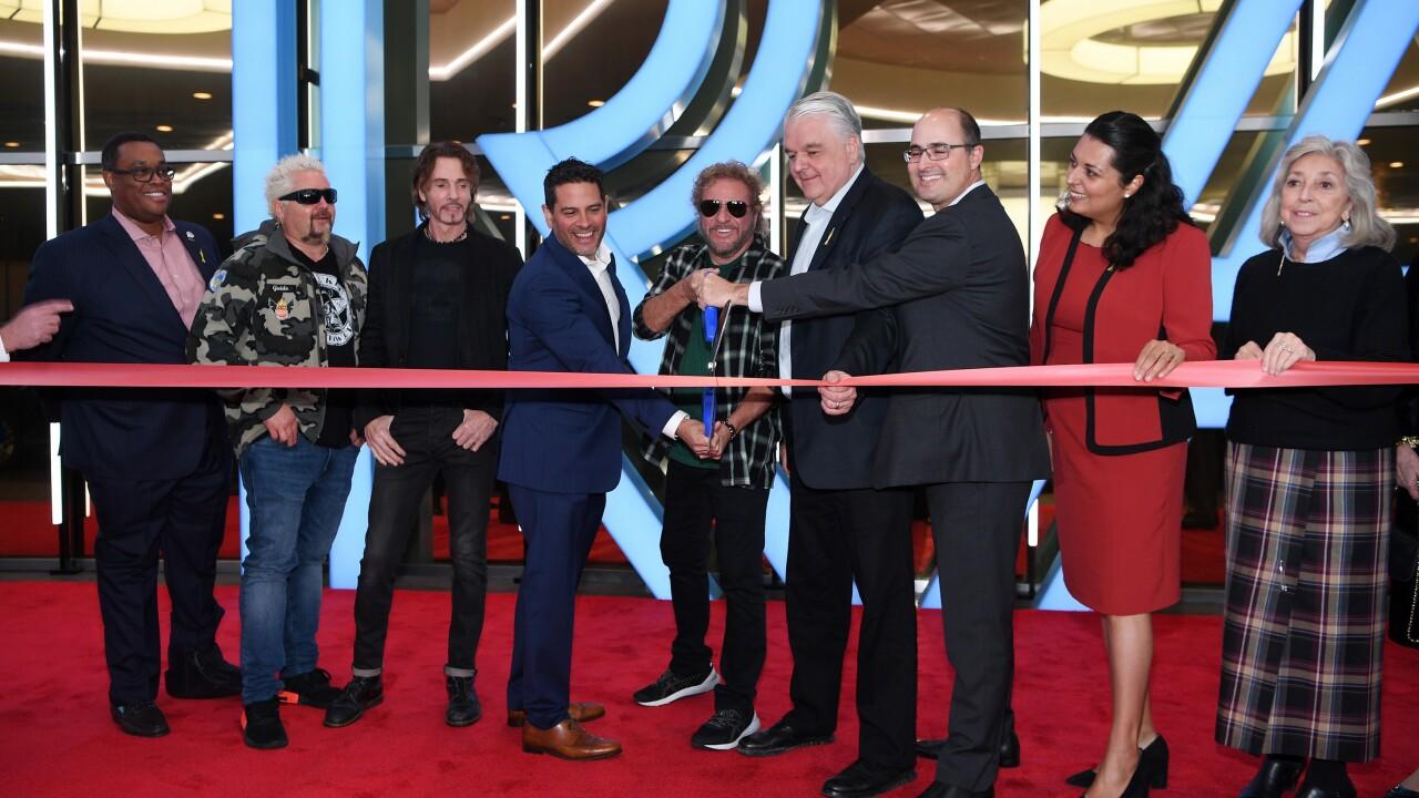 Rock Icon Sammy Hagar And Rick Springfield Celebrate Reinvention Of The STRAT Hotel, Casino & SkyPod With Santo Blanco Tequila And Sammy's Beach Bar Rum