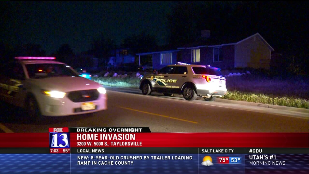 Police looking for suspects in Taylorsville homeinvasion