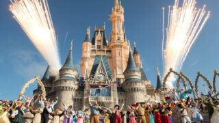 The Iconic Cinderella Castle At Disney World Is Being Repainted In A New Color
