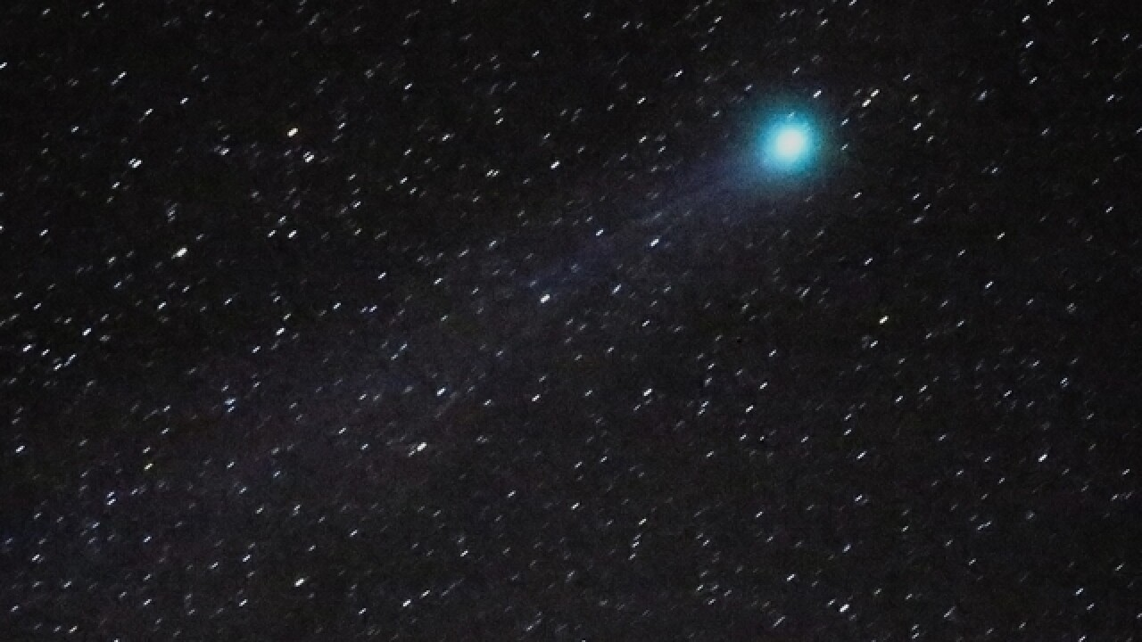 Comet named after Wisconsin astronomer to pass by Earth this week