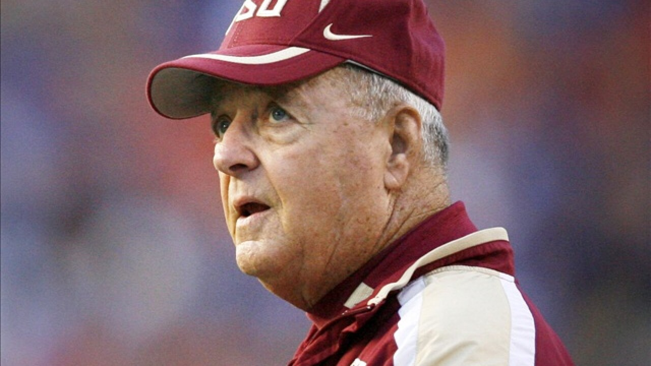 Bobby Bowden to help Seminole Boosters raise funds for
