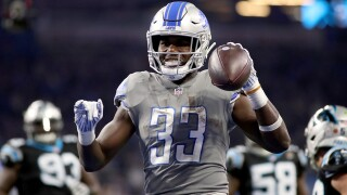 Lions RB Kerryon Johnson ruled out vs. Rams