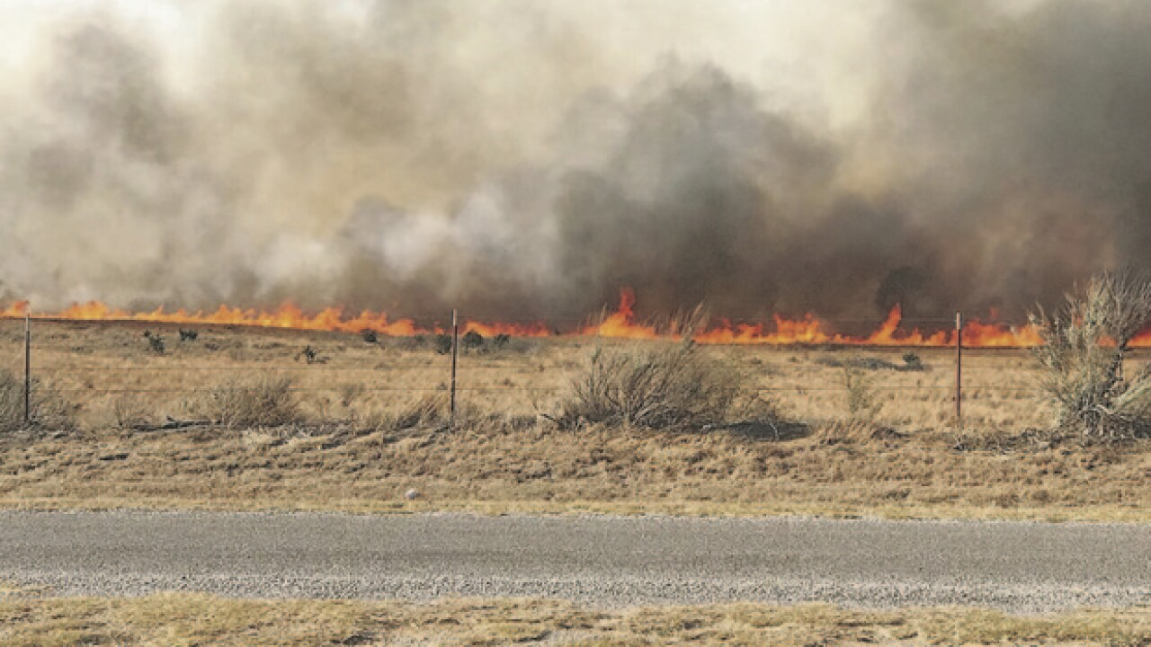 Hunter found burned but alive in Okla. wildfire