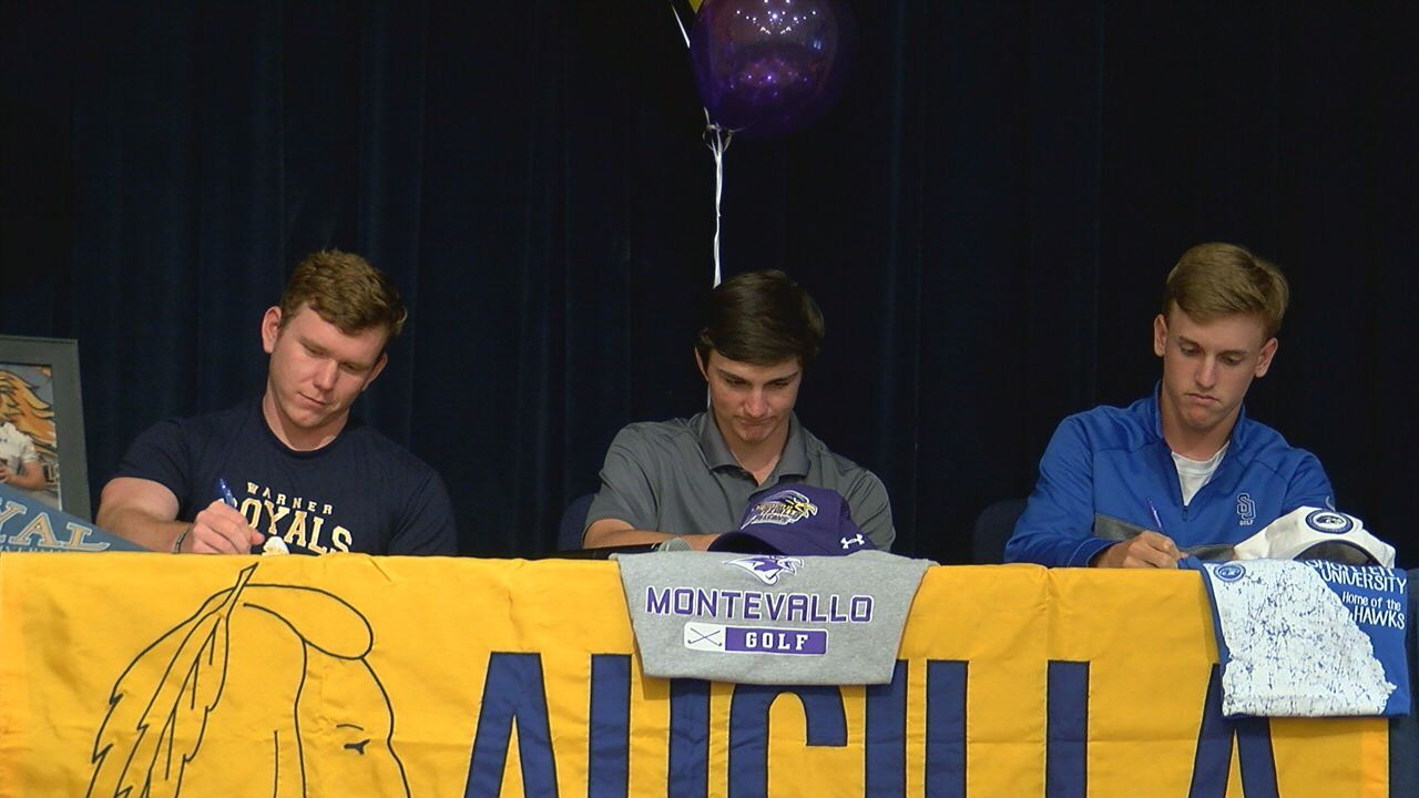 Three Aucilla Christian Athletes sign Letters of Intent Monday