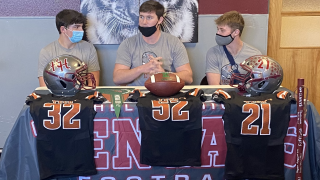 Three Helena High Bengals commit to play football at Tech