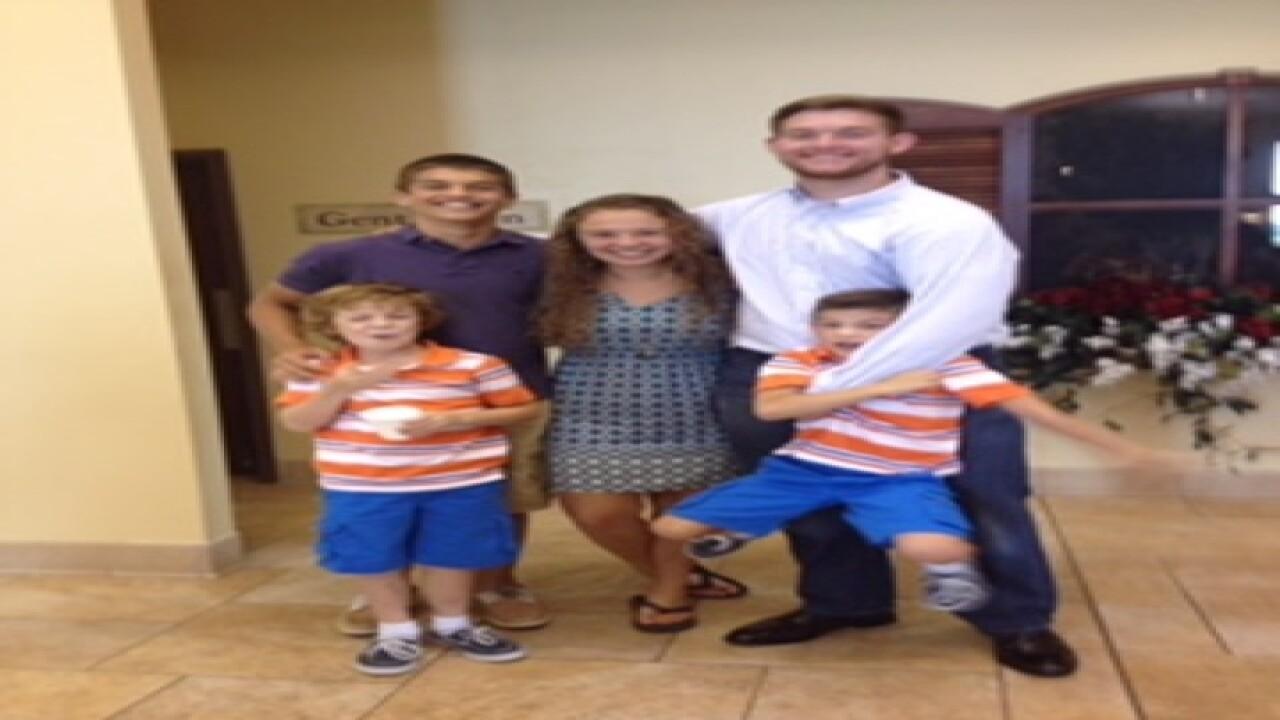 PHOTOS: Smiles of family killed in plane crash