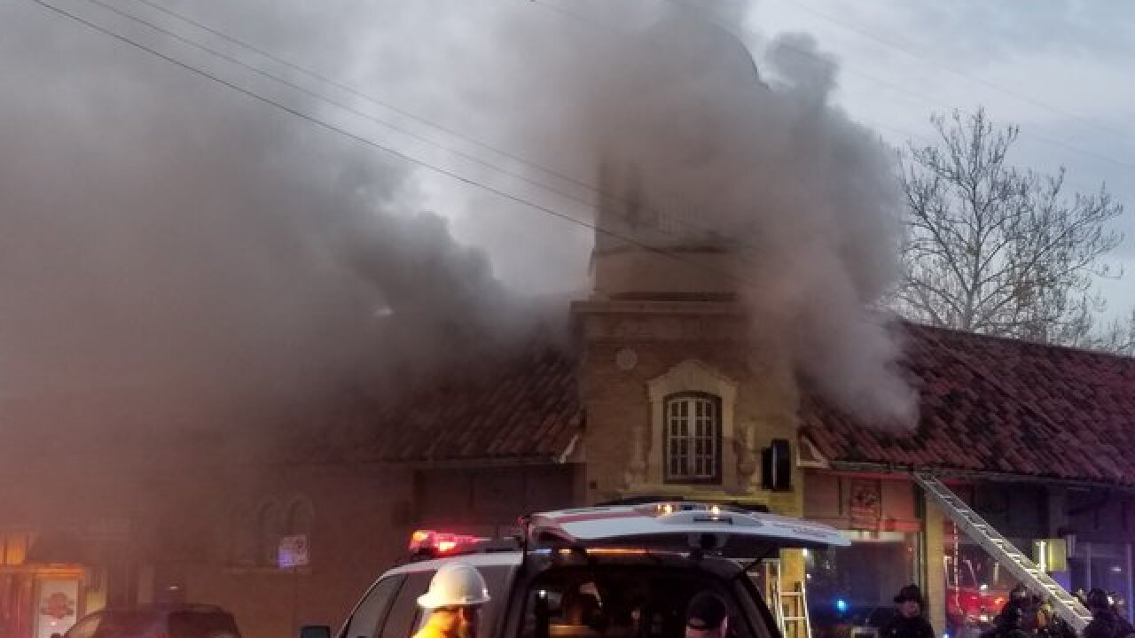 Morning fire damages Brookside restaurant Plate