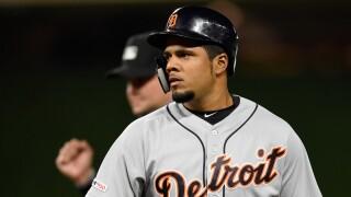 Jeimer_Candelario_Detroit Tigers v Minnesota Twins - Game Two