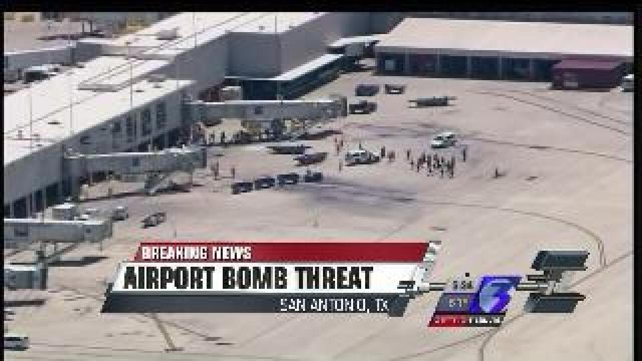 San Antonio Airport evacuated after bomb threat