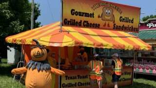 Great Pumpkin Farm hosting fair food event.